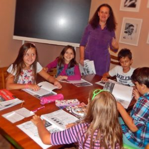 Summer language camp for children